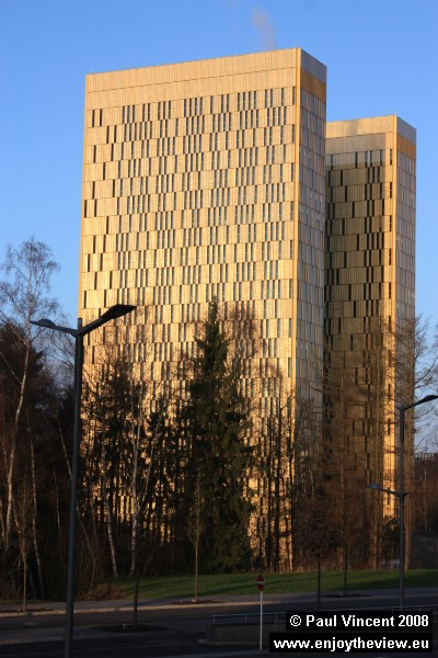 The new towers of the European Court of Justice.