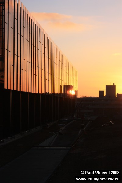 Sunset at the European Court of Justice.