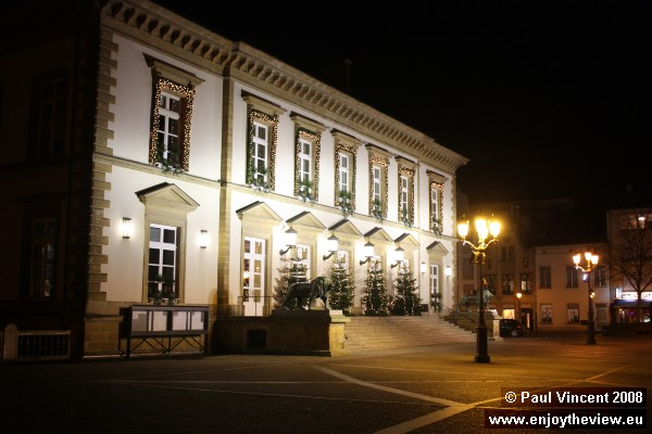 Luxembourg City Hall, located on the Place Guillaume II.