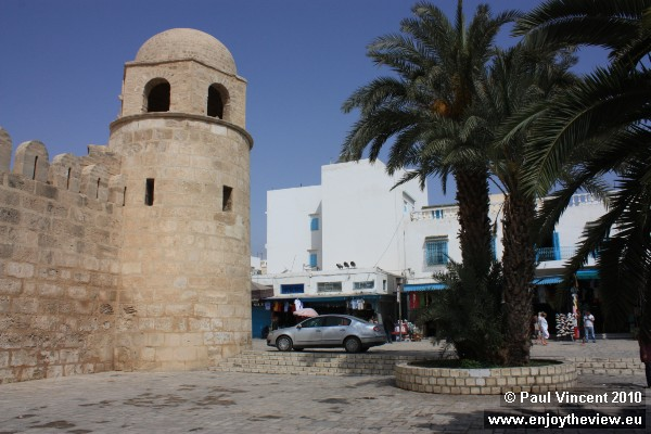 The northern tip of the Great Mosque.