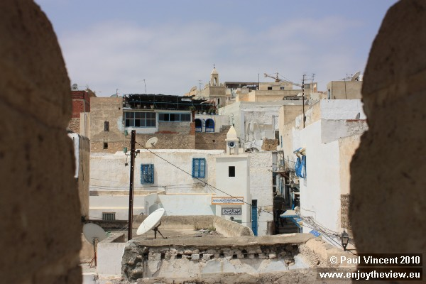 The medina is very densely populated.