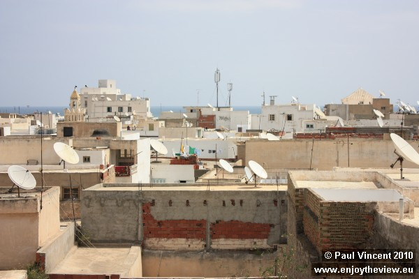 Satellite television is a popular feature in Tunisia.