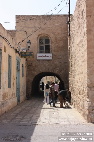 One of the entrances to the medina.