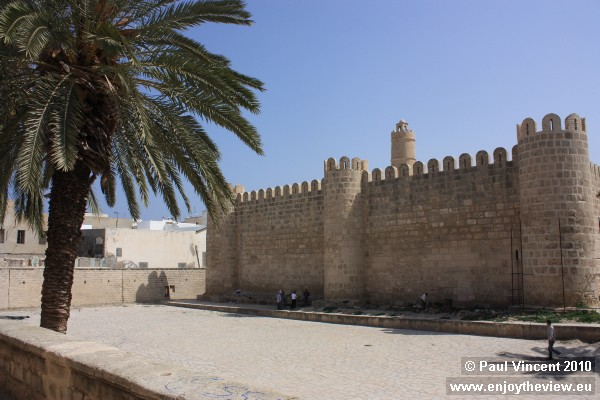 Part of the fortified wall around the medina.