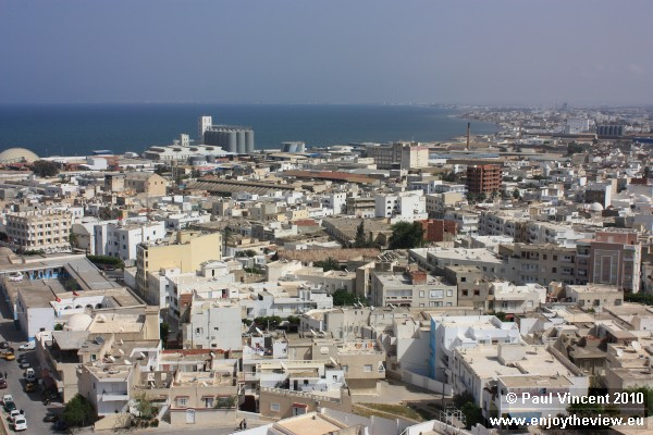 View to the south of the medina from the Khalif Tower.