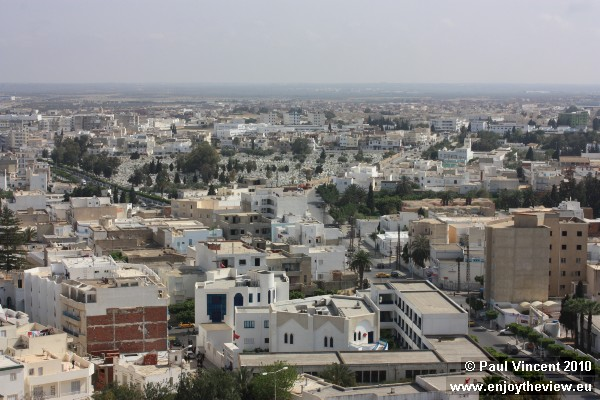 The population of Sousse is about 173,000.