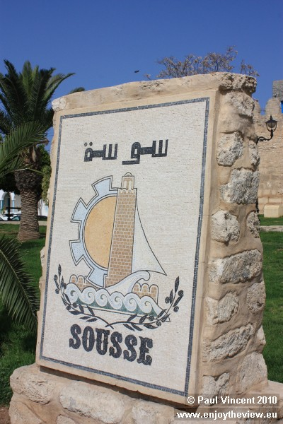 Sousse is located 140 km south of the Tunisian capital, Tunis.