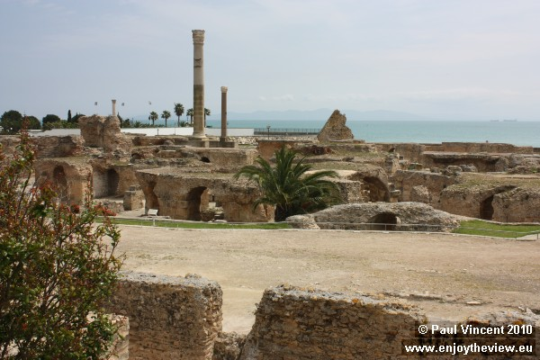 Carthage has been a UNESCO World Heritage site since 1979.
