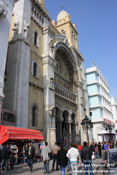 This Roman Catholic cathedral was opened in 1897.