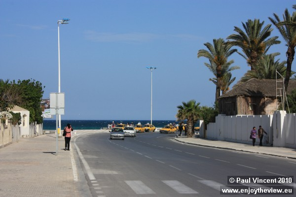 A road in the town of Sousse.