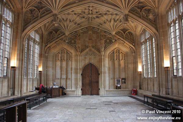 This room doubled as the Hogwarts School hospital in the Harry Potter films.