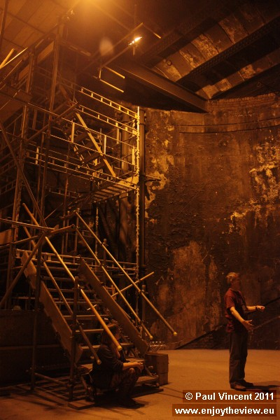 The Thames Tunnel was built as a pedestrian tunnel and shopping arcade under the river Thames.