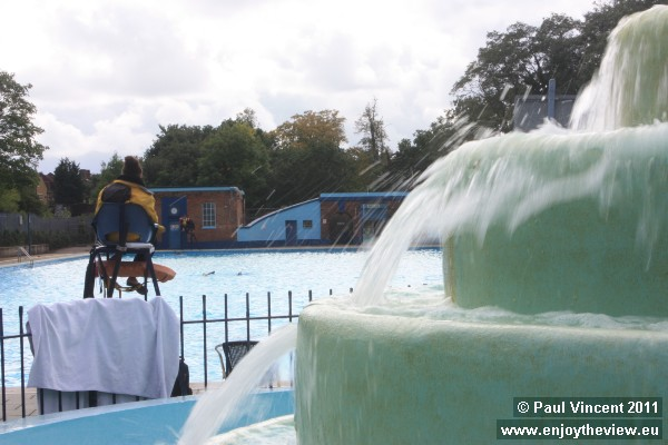 The lido is open to the public from late May to September, and members have access all year.