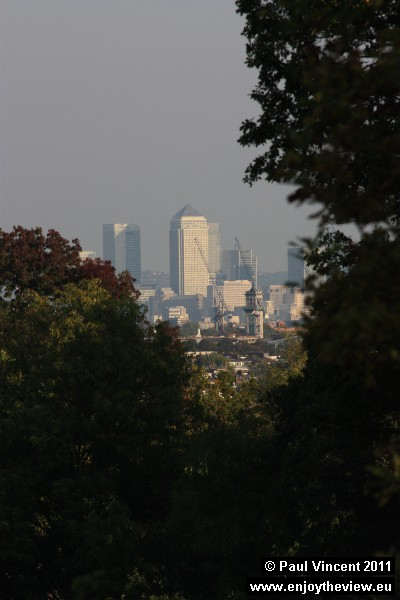 One Canada Square is the second-tallest building in the UK, after the Shard.