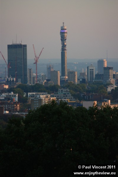 The BT Tower was the tallest building in the UK until 1980.