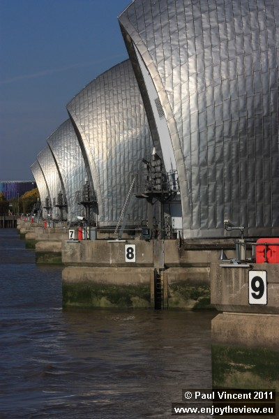 The barrier cost about £534 million to build.