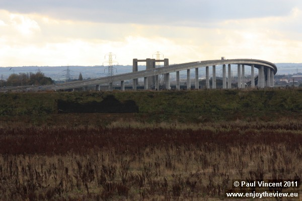 The Sheppey Crossing links the Isle of Sheppey to mainland Kent.