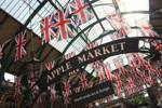 Bunting at Covent Garden