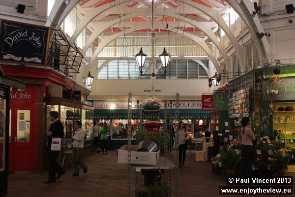 The Covered Market has existed since November 1774.