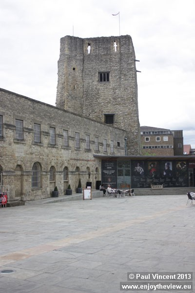The castle was built in 1071 for William the Conqueror.