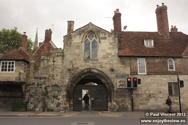 The gate was build around 1331.