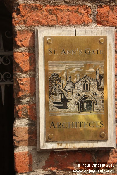 The gate is now home to an architecture business.
