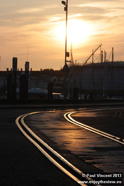 Unusually, mainline trains would run along the streets of Weymouth to reach Quay station.