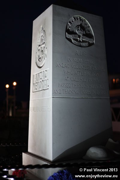 Weymouth was the depot for ANZAC Gallipoli casualties sent to UK hospitals for treatment.