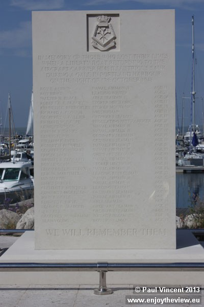 29 sailors perished in Portland Harbour on 17 October 1948.