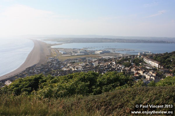 The village of Chiswell is located at the eastern end of the Chesil Beach.