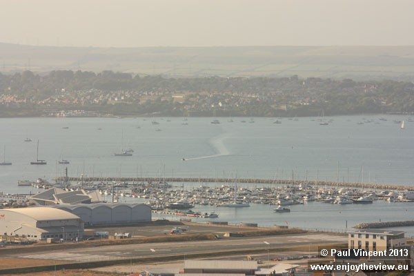 Weymouth is visible in the background.