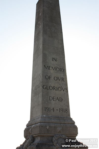 The memorial is situated at Chesil Beach Viewpoint.