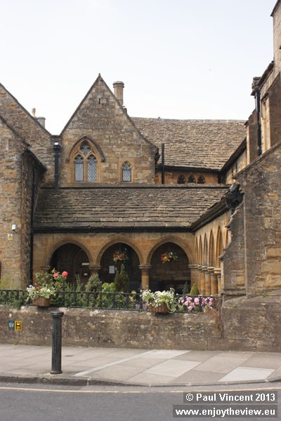 The almshouses have provided shelter and care for the people of Sherborne for over 500 years.