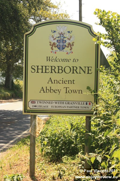 Sherborne is a founding member of Douzelage, a network of twinned towns in every member of the EU.