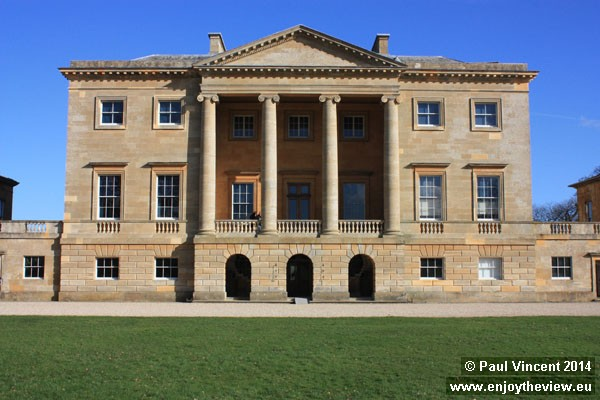 The house was designed by John Carr of York and built between 1776 and 1783.