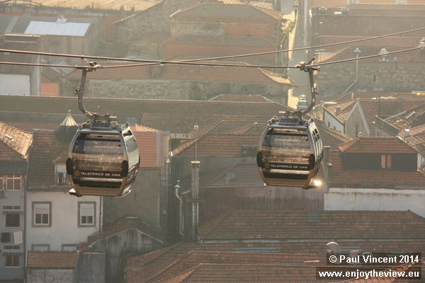 The Gaia cable car opened in April 2011.