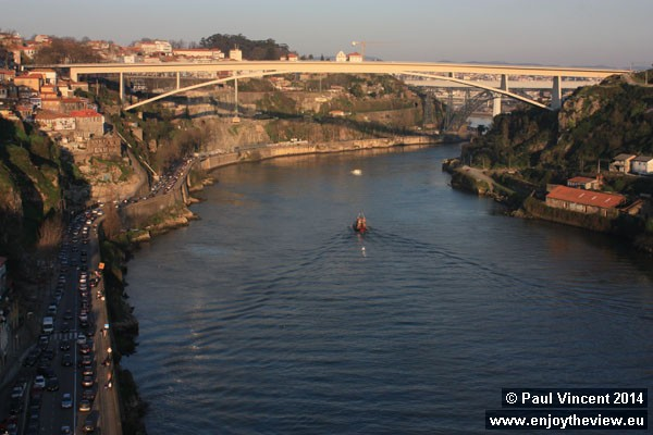 The Douro is the third-longest river in the Iberian Peninsula, after the Tagus and Ebro.