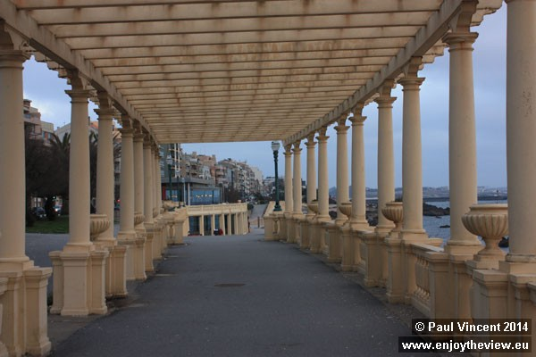 This neoclassical-style Pergola was restored in 2008.