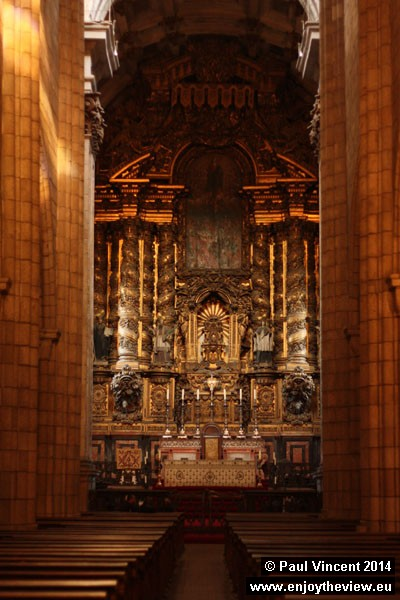 Nave of Porto Cathedral.