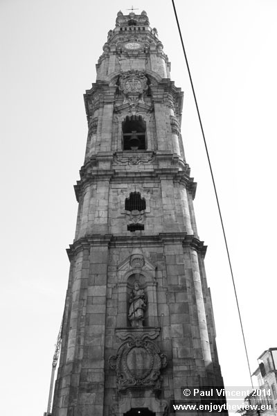 The tower was built after the church, and completed in 1763.