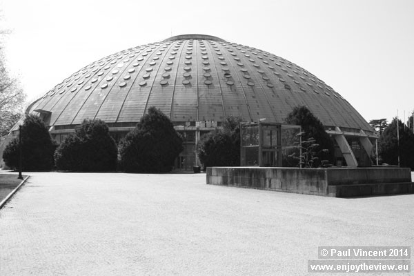 This was the site of Portugal's Crystal Palace, on a similar scale to the one in London.