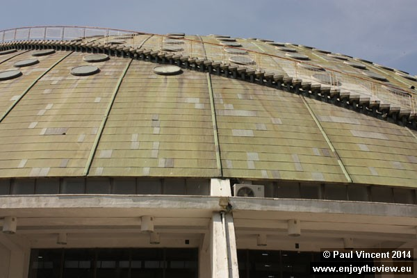 This dome replaced the Crystal Palace in 1956.