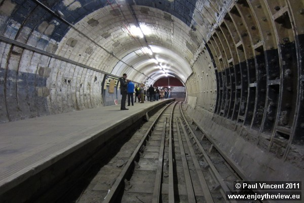 London Underground sometimes install prototype platform designs here for testing of new technology.