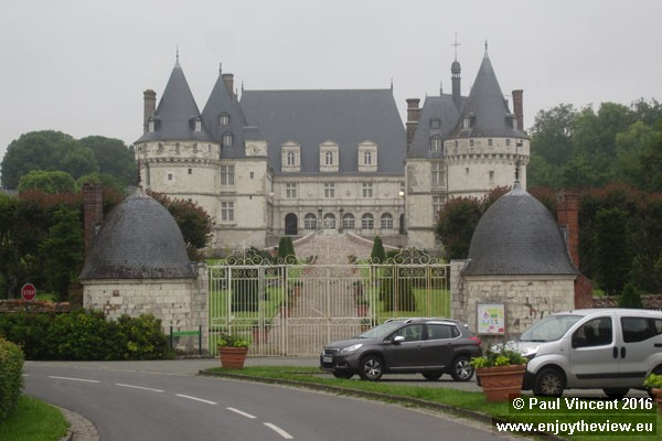 This Château reopened to the public in 2014, exactly a decade after a devastating fire.