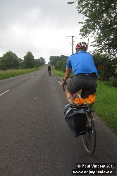 We're not the only cyclists heading to Paris today.
