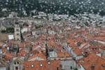 Rainy day in Dubrovnik