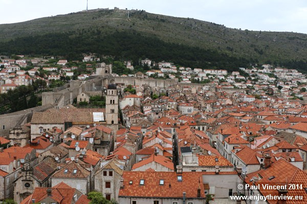 The western side of the Old Town.