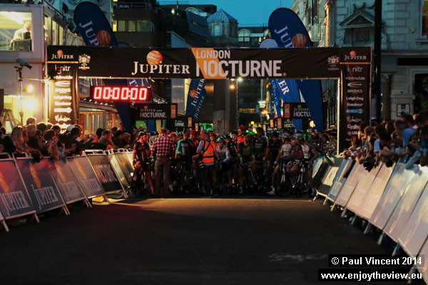 The Men's Criterium is the highlight of the evening.