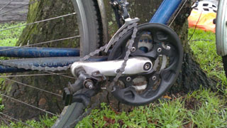 Photo of crankset
